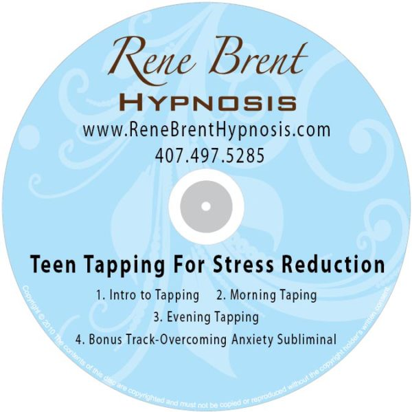 Teen Tapping For Stress Reduction