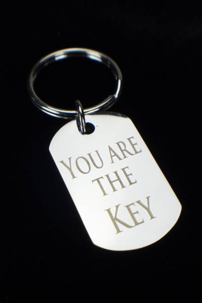 Keychain - You Are The Key - Back