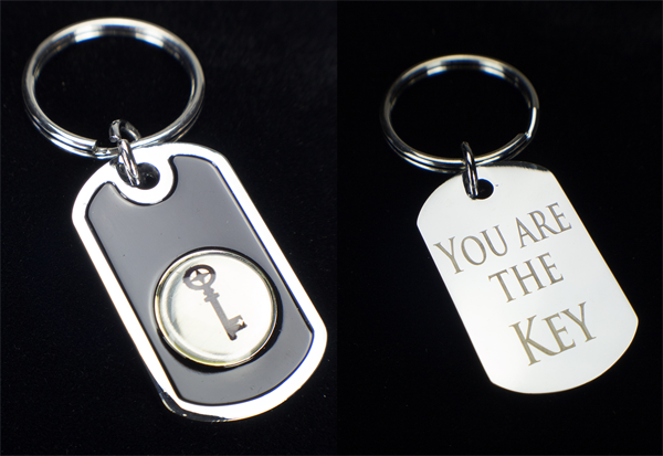 Keychain - You Are The Key