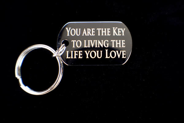Keychain - The Life You Love - Back